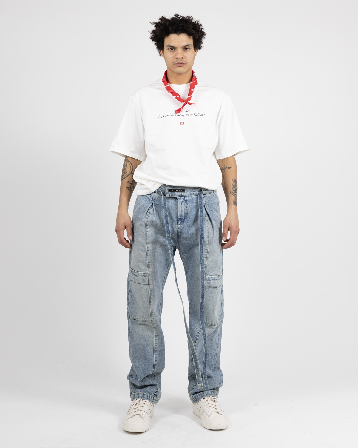 FEAR OF GOD TIE JEANS