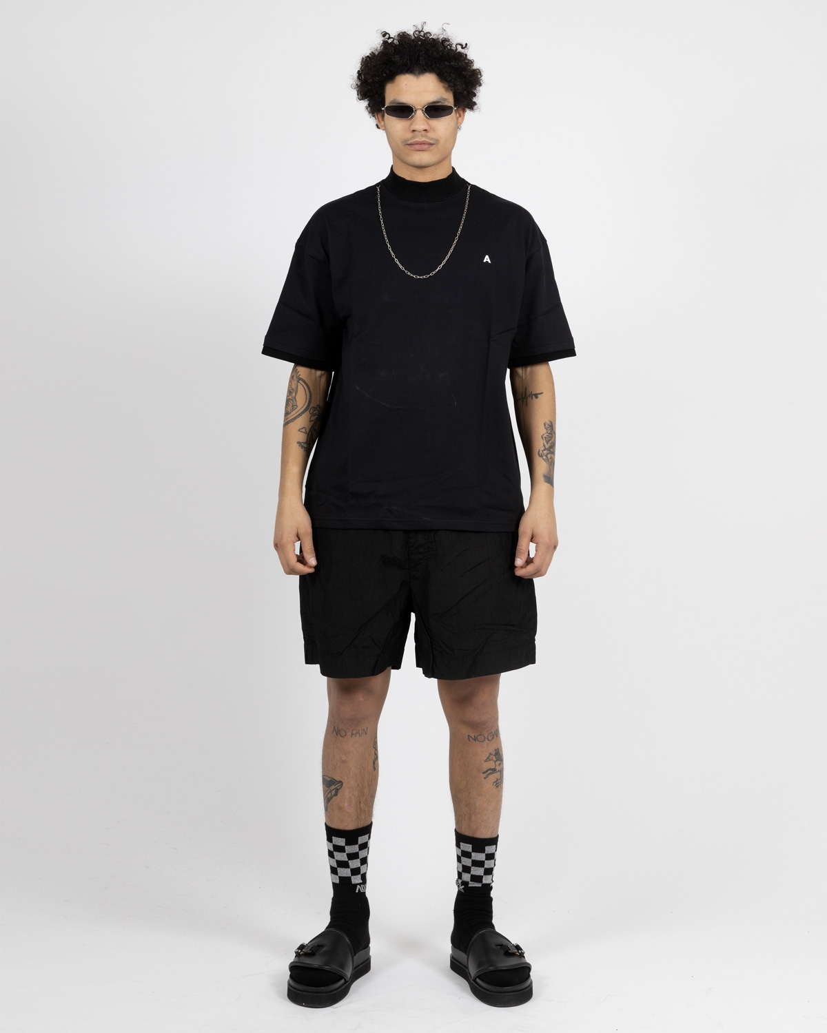 AMBUSH BLACK CHAIN T-SHIRT