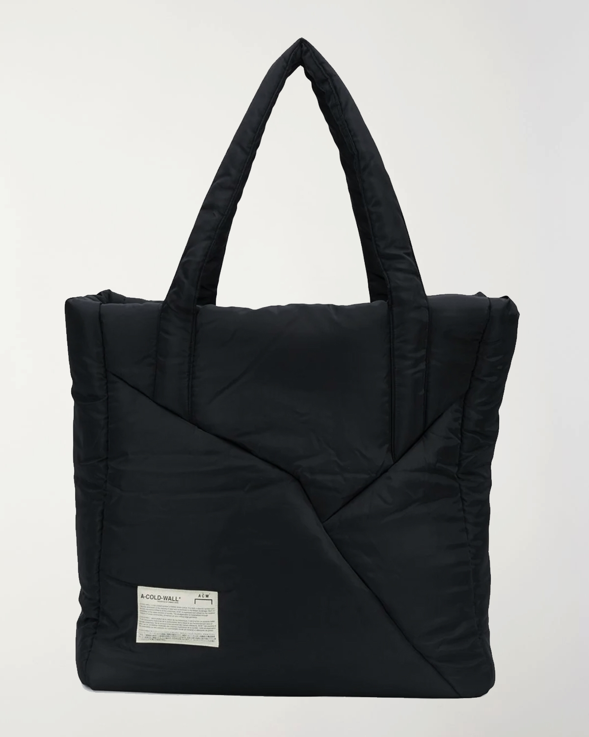 A-Cold-Wall* padded tote bag