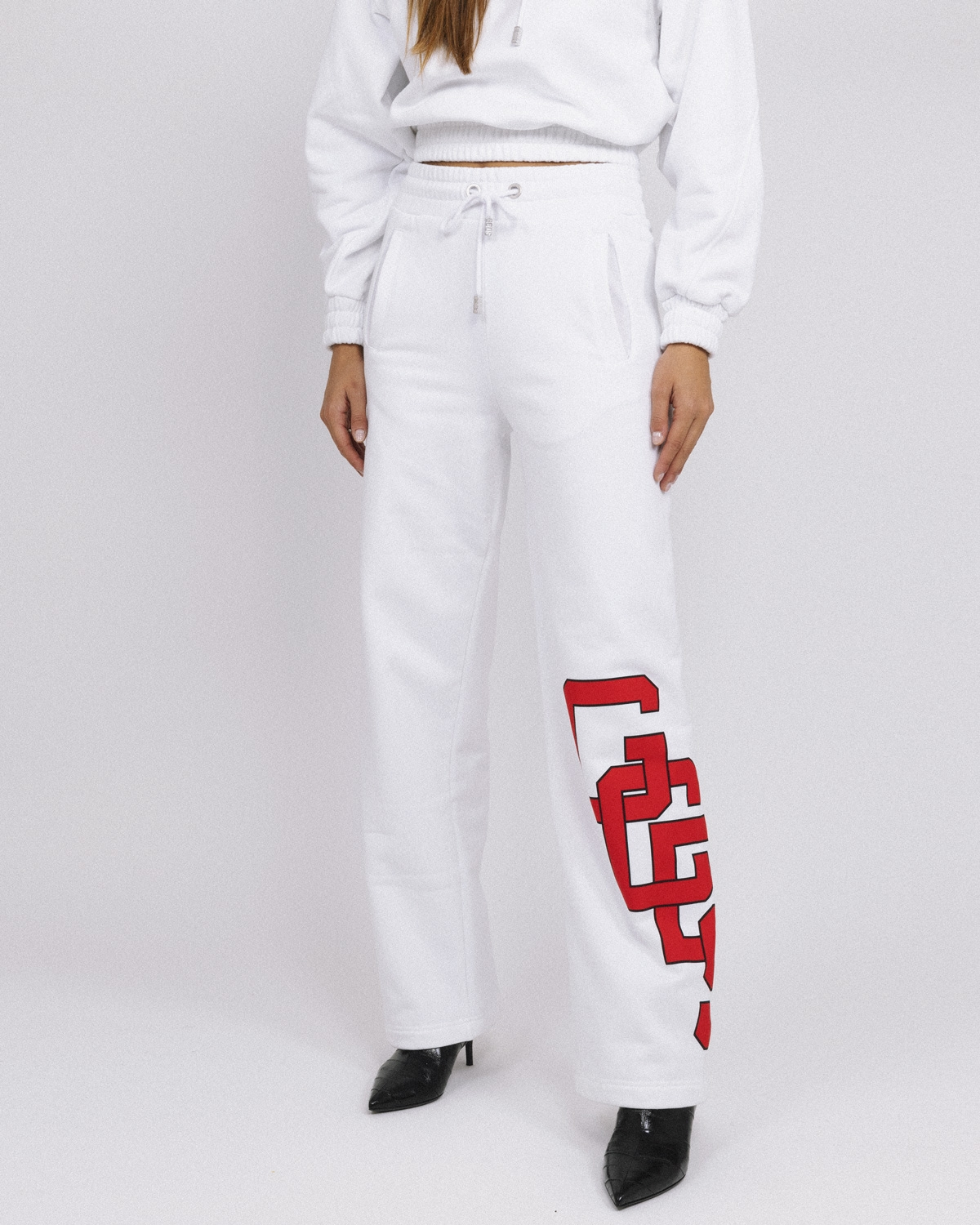 GCDS COLLEGE LOGO SWEATPANTS