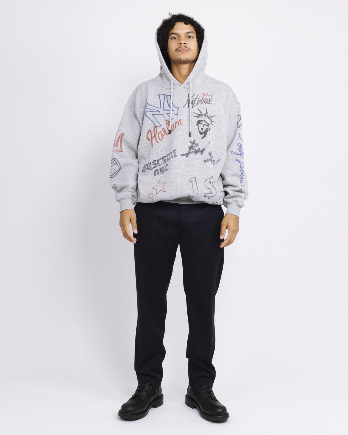 BUSCEMI GRAPHICS HOODIE