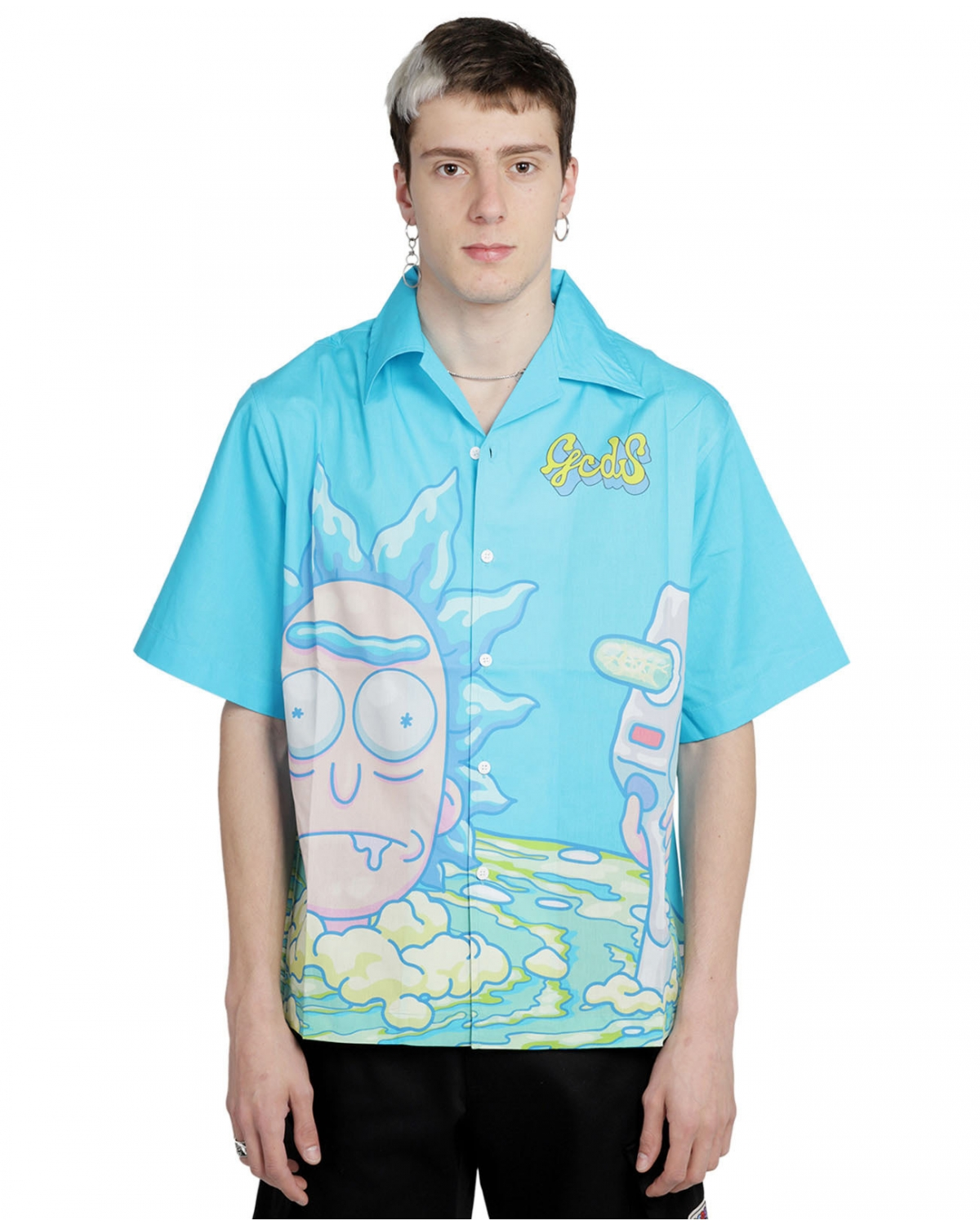 GCDS x Rick and Morty blue...