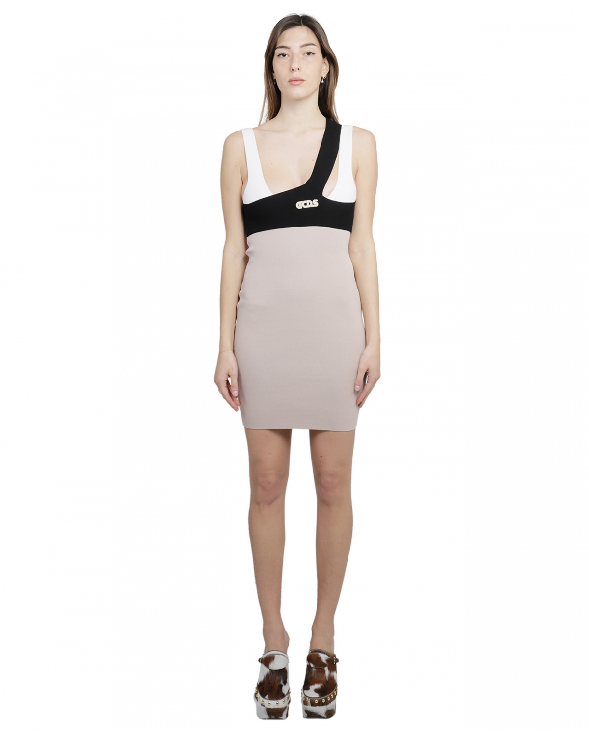 CGDS grey layer dress