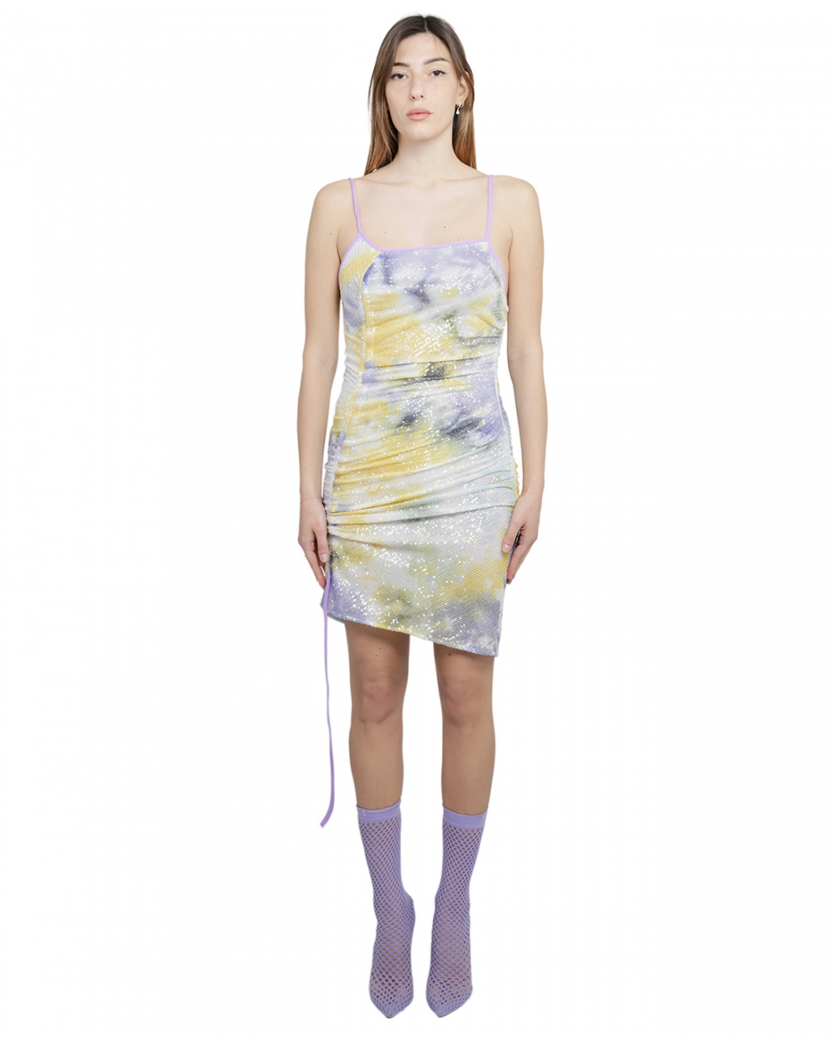 GCDS pastel sequined dress