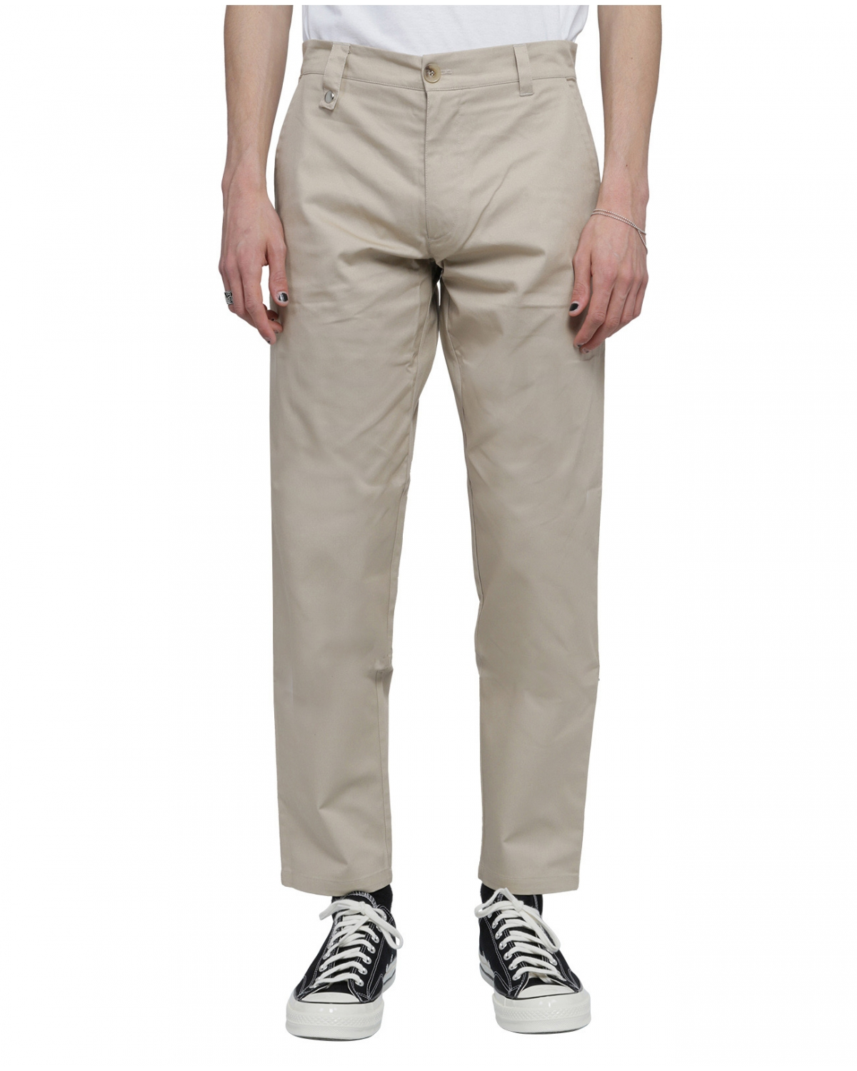 Silted beige Lobos trousers