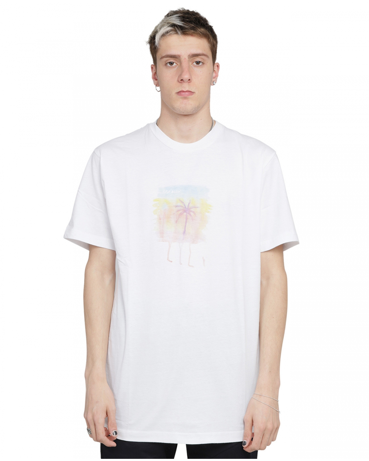 Silted white Palm t-shirt