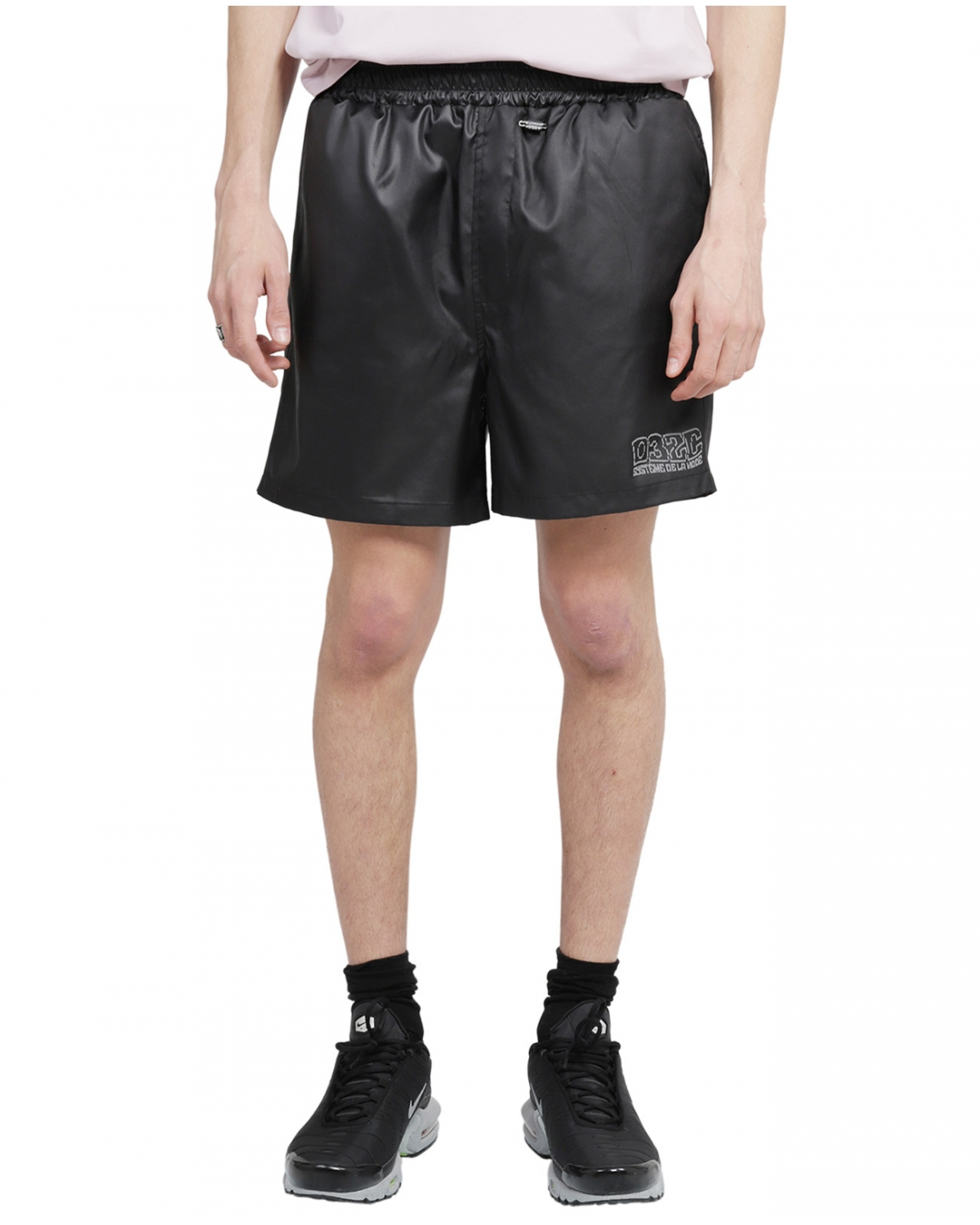 032c black ISBN swim shorts