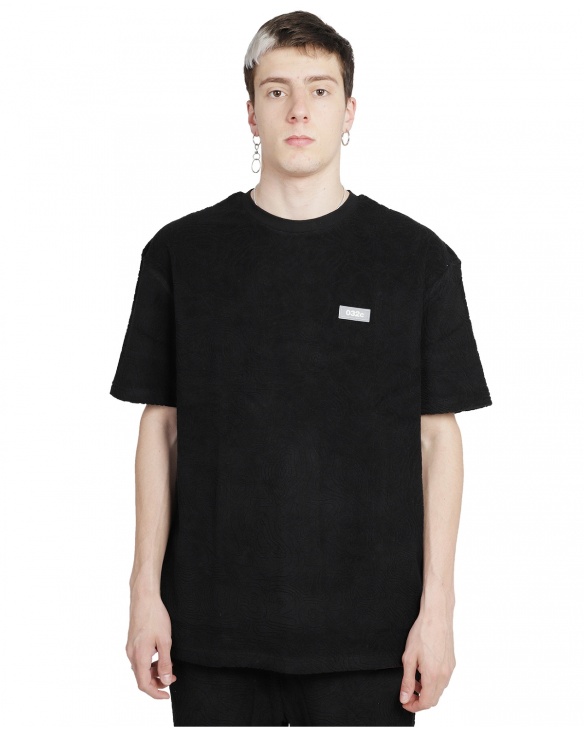 032c black Topos t-shirt