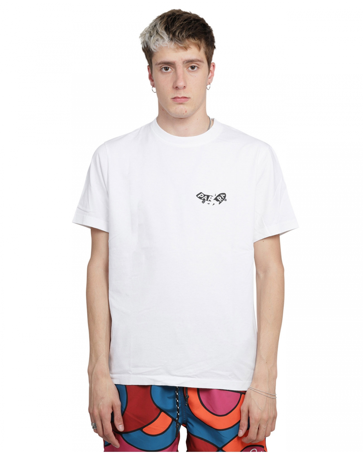 By Parra white Focused t-shirt
